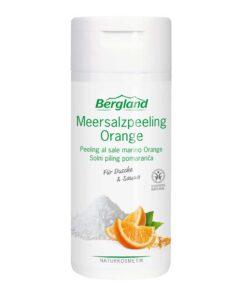 скраб за тяло портокал с морска сол Bergland