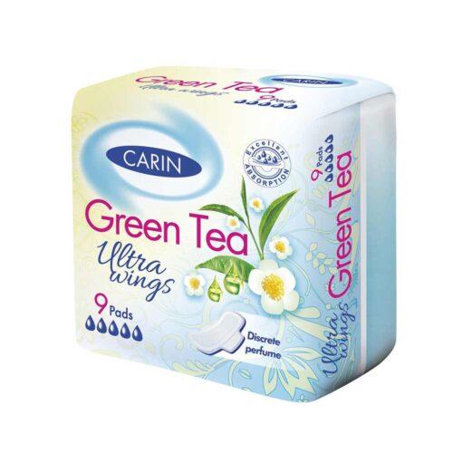 дамски превръзки зелен чай Carin